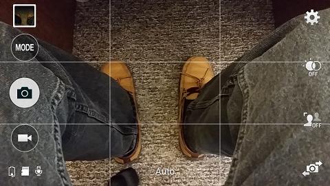 Samsung Galaxy Camera Screen